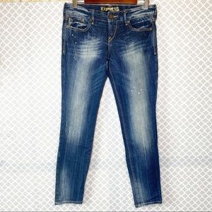 EUC Express Stella Ultra Skinny Ankle Jeans